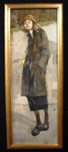 Portret Agaty Wiosennej, olej, 1994 r. kolekcja rodzinna, fot. NK