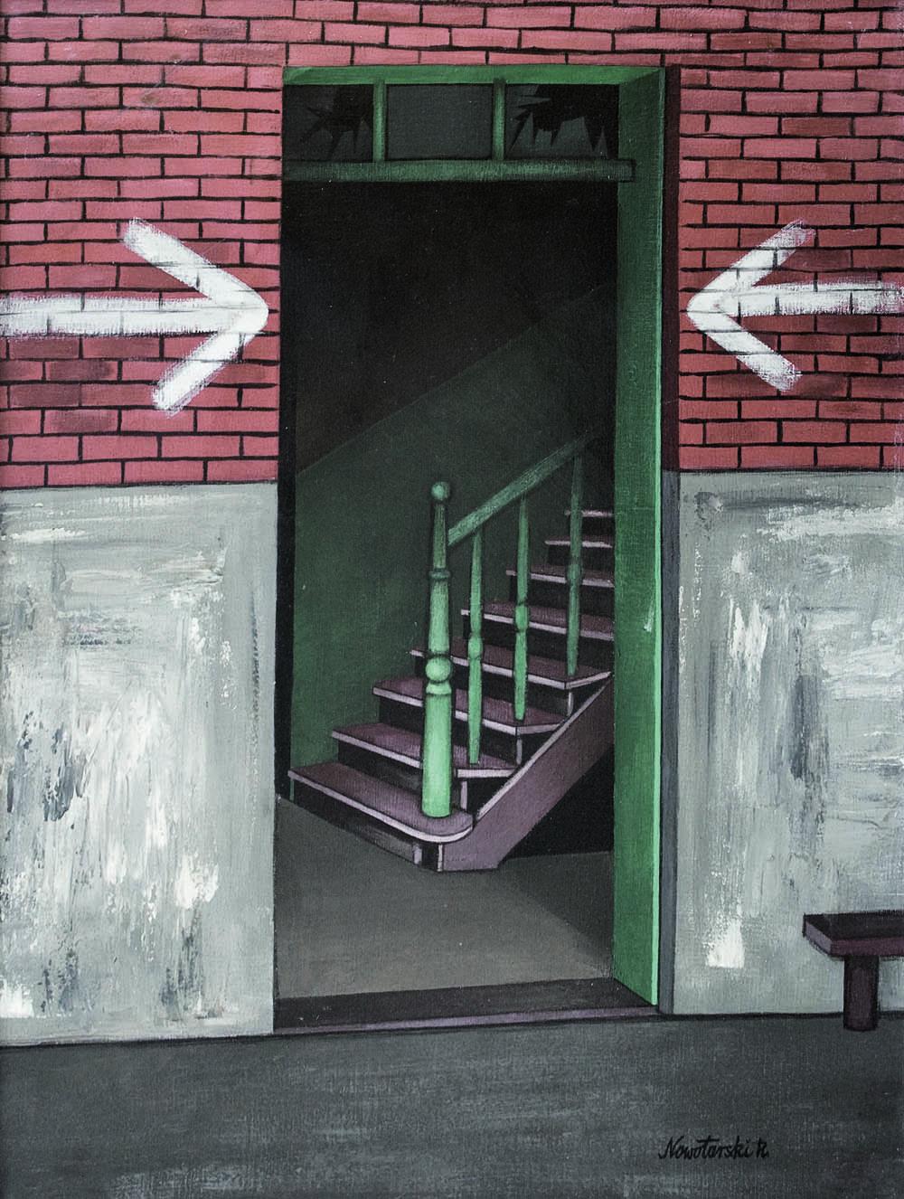 Nowotarski - Wejście (schody)